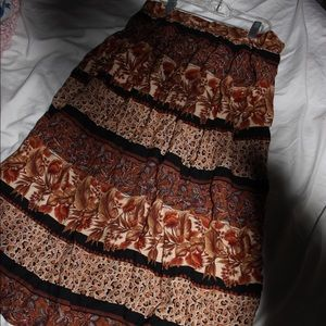 Vintage Lee Winter Maxi Skirt